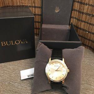 Bulova Mens Watch Brand New Tags and Box
